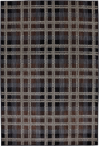 American Rug Craftsmen Dryden Billings Black Area main image