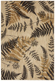 American Rug Craftsmen Bob Timberlake Heritage Blue Ridge Ferns Light Camel Area main image