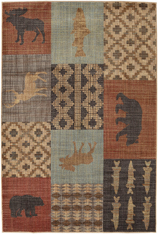 American Rug Craftsmen Destinations Nome Multi Area main image