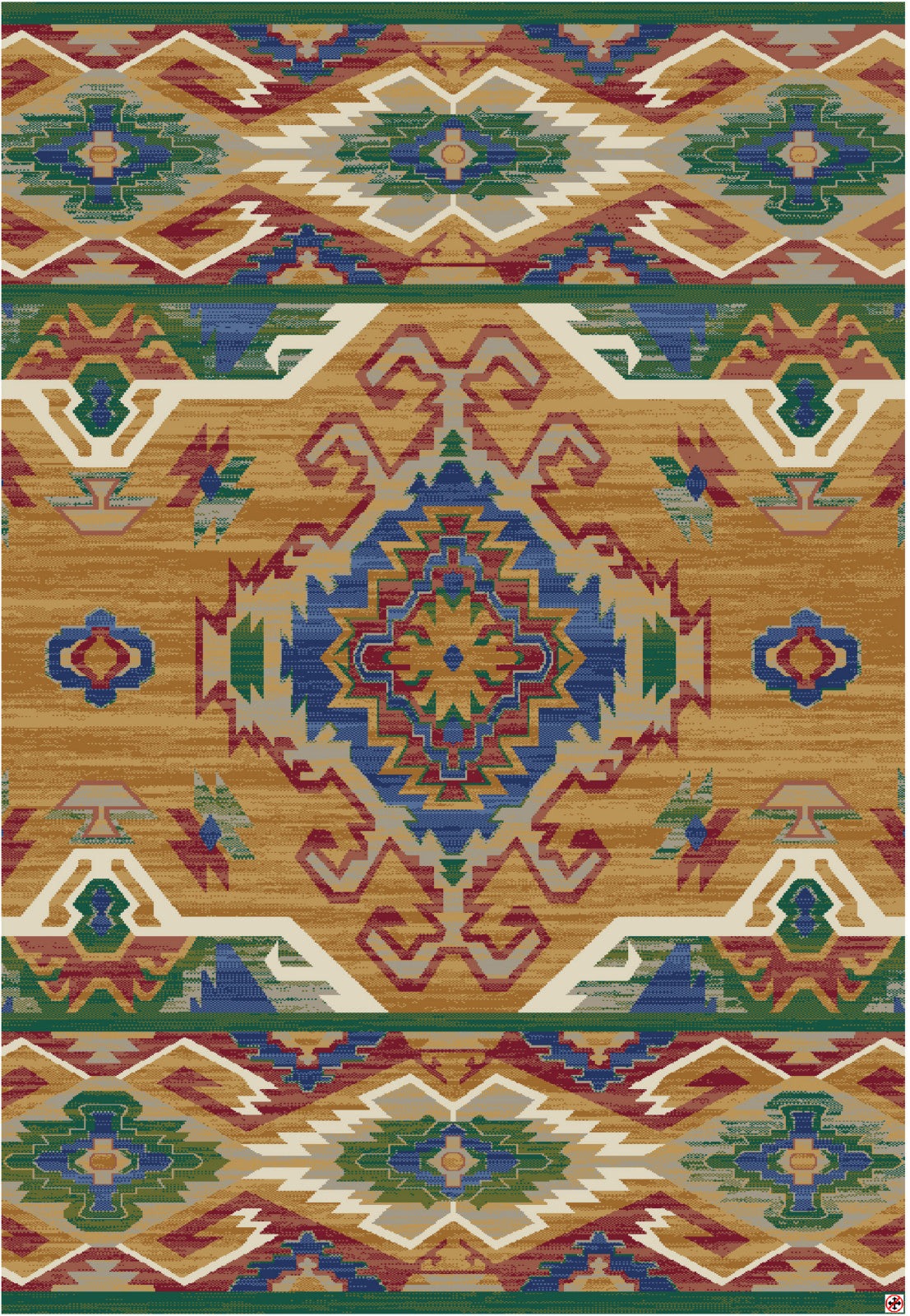 American Rug Craftsmen Destinations Roswell Marigold Area main image