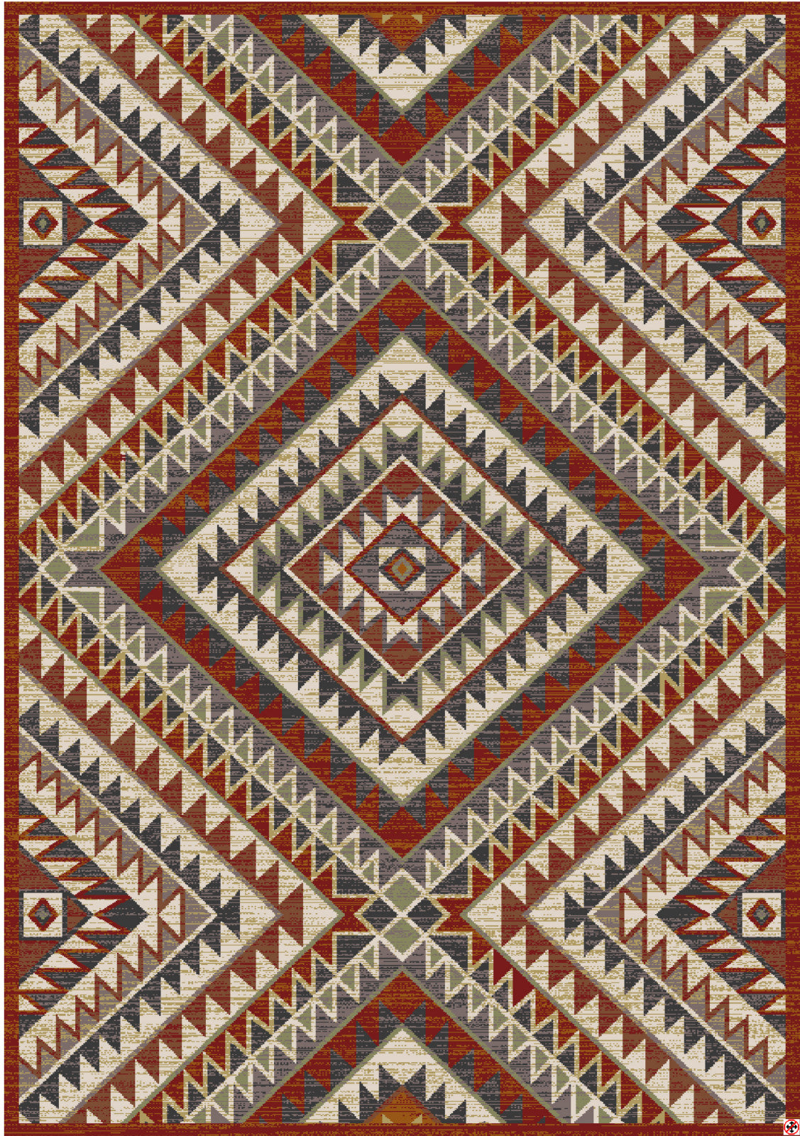 American Rug Craftsmen Destinations South Pass Charcoal Area main image