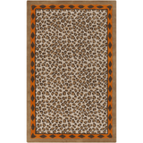 Surya Amour AMR-8001 Rust Area Rug by Florence de Dampierre 5' x 8'