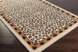 Surya Amour AMR-8003 Beige Hand Tufted Area Rug by Florence de Dampierre 5x8 Corner