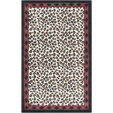 Surya Amour AMR-8004 Black Area Rug by Florence de Dampierre 5' x 8'