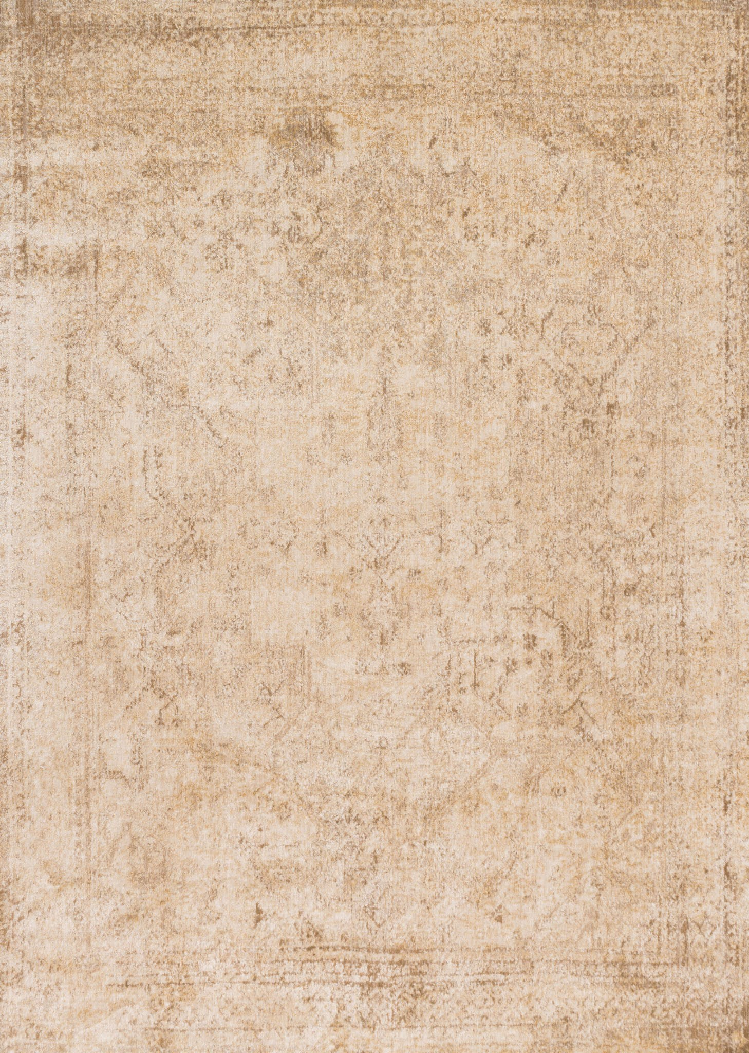 Loloi Anastasia AF-15 Ivory / Light Gold Area Rug main image
