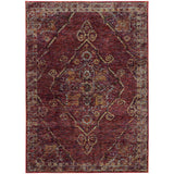 Oriental Weavers ANDORRA 7135E Red/ Gold Area Rug Main