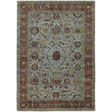 Oriental Weavers ANDORRA 7155A Blue/ Red Area Rug Main