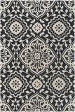 Artistic Weavers Annette Ruby Onyx Black/Ivory Area Rug main image
