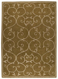 MAT Vinson Annapurna Olive Green Area Rug main image