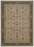 Nourison Antiquities ANT04 Royal Countryside Cream Area Rug by Kathy Ireland