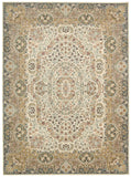 Nourison Antiquities ANT05 Stately Empire Ivory Area Rug by Kathy Ireland
