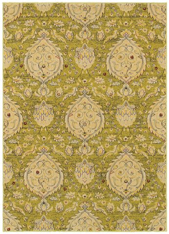 LR Resources Antigua 80992 Green Area Rug