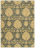 LR Resources Antigua 80993 Blue Area Rug