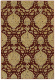 LR Resources Antigua 80994 Red Area Rug