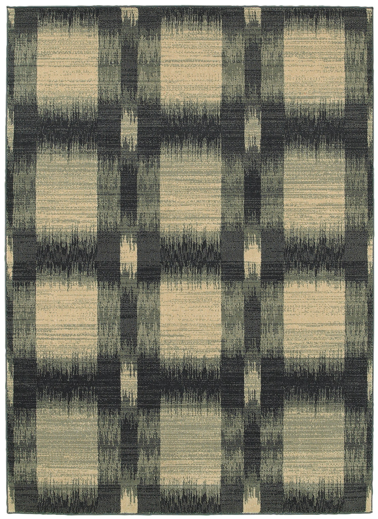LR Resources Antigua 80996 Blue Area Rug