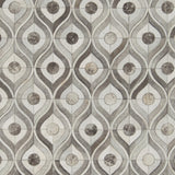 Surya Appalachian APP-1003 Light Gray Animal Hide Area Rug Sample Swatch