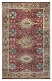 Rizzy Aquarius AQ8844 Red Area Rug