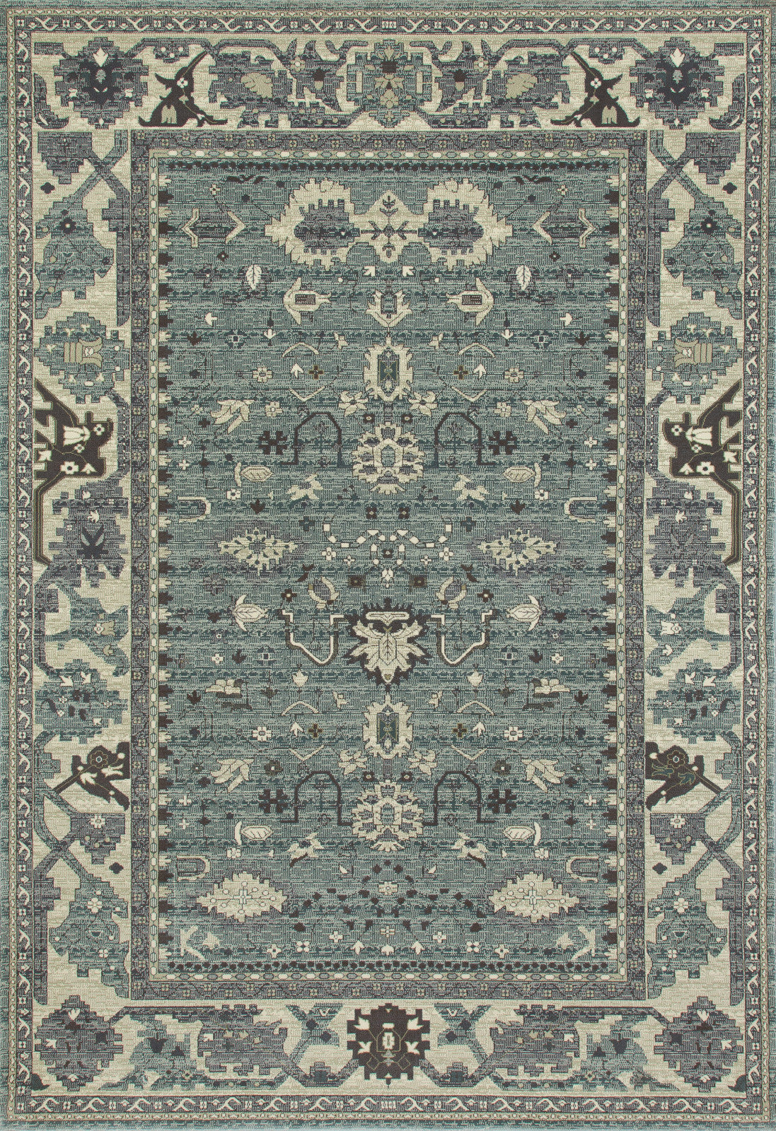 Art Carpet Maison AR-00-0101 Aqua Area Rug main image