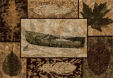 Art Carpet Cabin AR-00-0259 Brown Area Rug main image