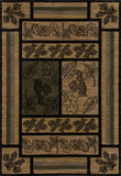 Art Carpet Cabin AR-00-0264 Green Area Rug main image