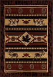 Art Carpet Cabin AR-00-0269 Brown Area Rug main image