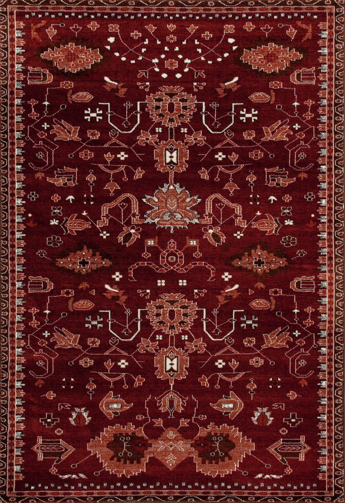 Art Carpet Arabella AR-00-040 Red Area Rug main image