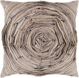 Surya Rustic Romance Budding Flower AR-002 Pillow 18 X 18 X 4 Down filled