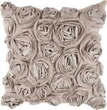 Surya Rustic Romance Bed of Flowers AR-003 Pillow 22 X 22 X 5 Poly filled