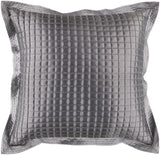 Surya Quilted Tiles AR-005 Pillow 22 X 22 X 5 Poly filled