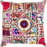 Surya Karma Come Away with Me AR-068 Pillow 18 X 18 X 4 Poly filled