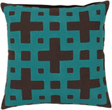 Surya Layered Blocks Intersecting Squares AR-083 Pillow