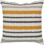 Surya Ikat Stripe Vertical Stripes AR-103 Pillow