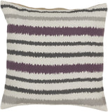 Surya Ikat Stripe Vertical Stripes AR-105 Pillow