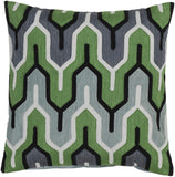 Surya Aztec Retro Modern AR-114 Pillow 18 X 18 X 4 Poly filled
