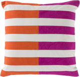 Surya Oxford Spellbound by Stripes AR-133 Pillow 18 X 18 X 4 Poly filled