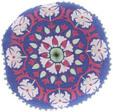 Surya Suzani Mesmerizing Moroccan AR-138 Pillow 16 X 16 X 4 Poly filled