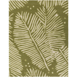 Surya Artisan ARI-1002 Olive Hand Hooked Area Rug by William Mangum 8' X 10'