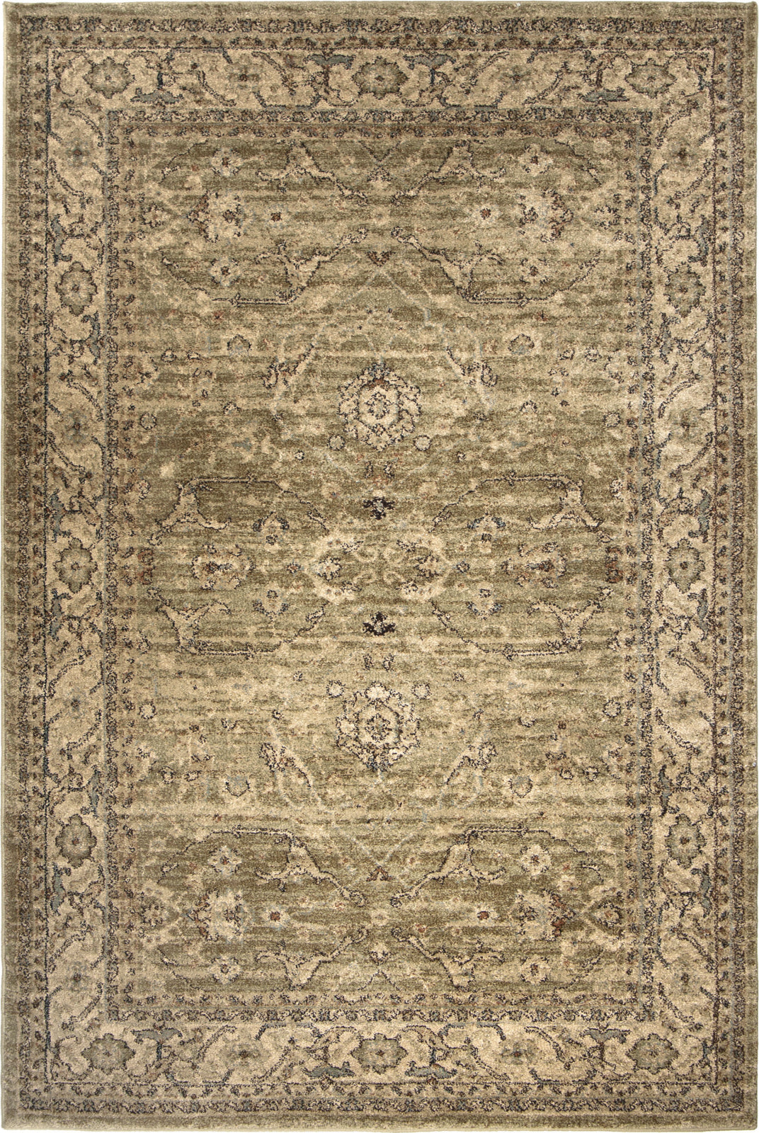 Orian Rugs Aria Ansley Green Area Rug by Palmetto Living main image