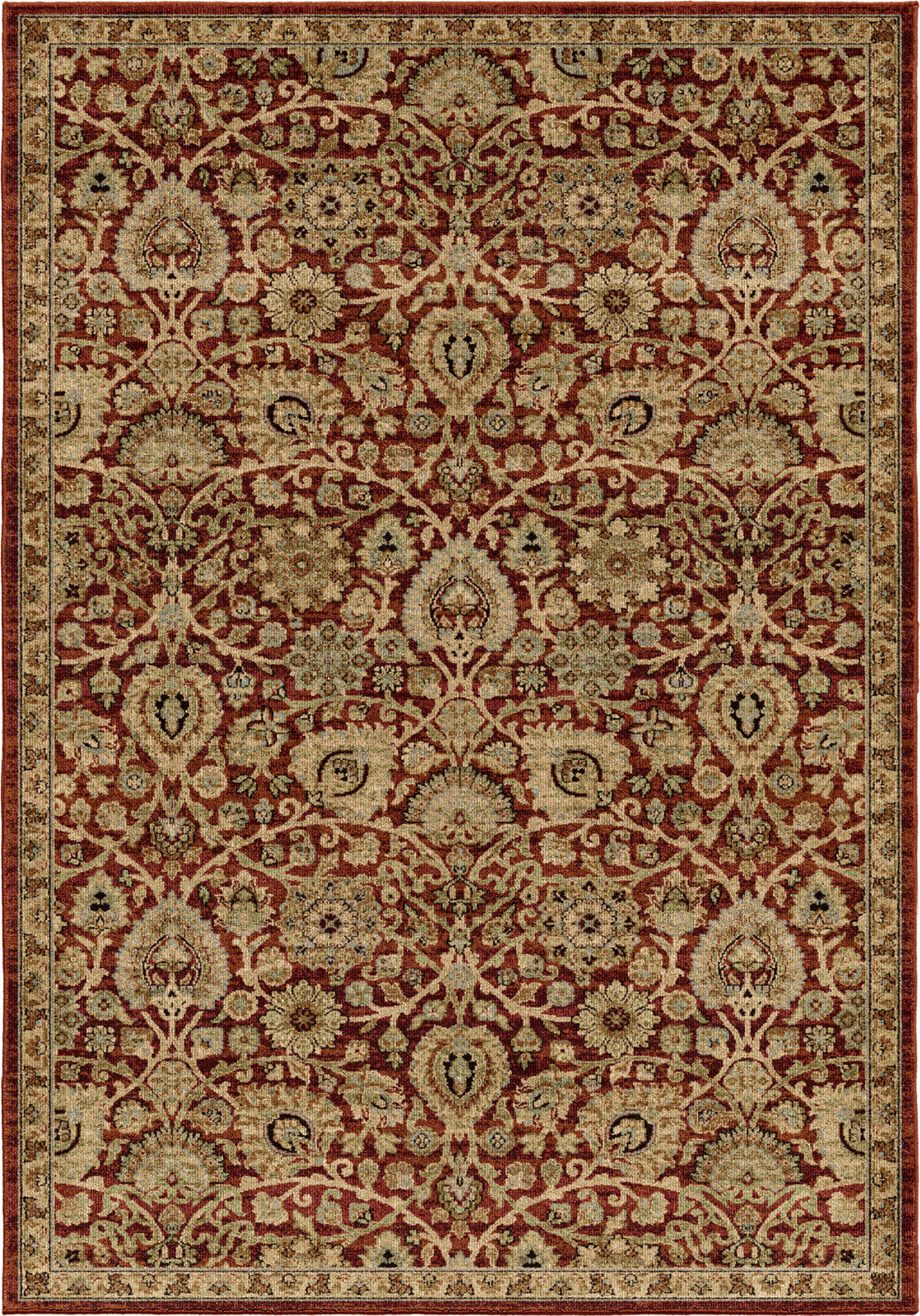 Orian Rugs Aria Dover Rouge Area Rug by Palmetto Living main image