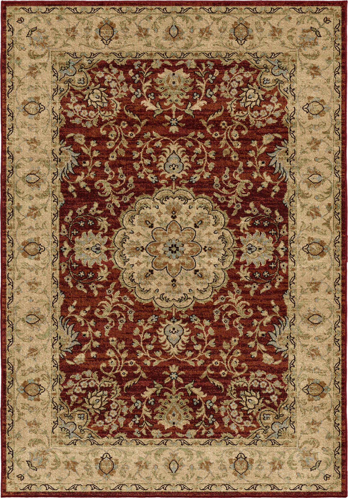 Orian Rugs Aria Prometheus Rouge Area Rug by Palmetto Living main image