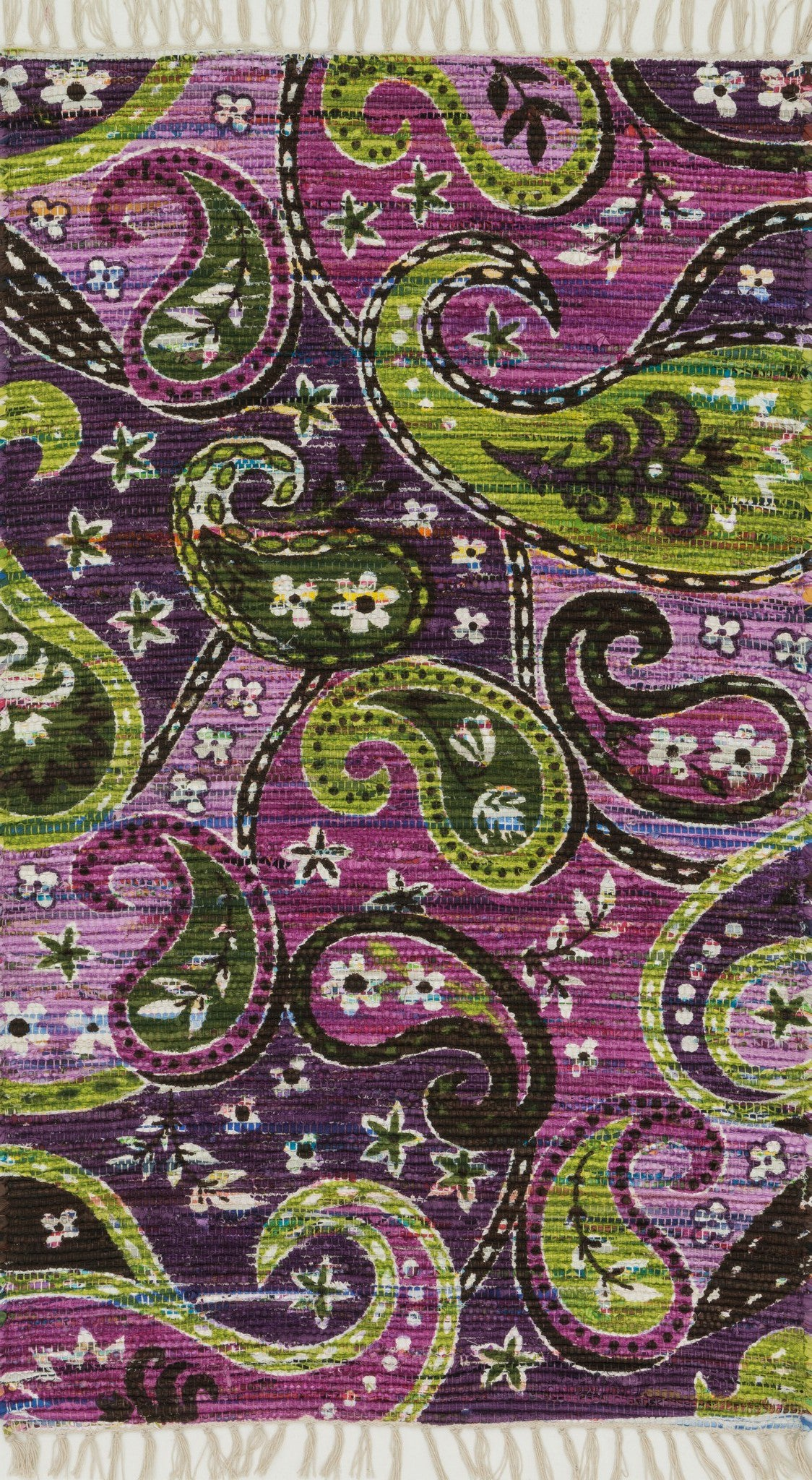 Loloi Aria HAR23 Purple / Multi Area Rug main image
