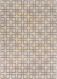 Surya Artist Studio ART-231 Grey Hand Tufted Area Rug 8' X 11'
