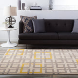 Surya Artist Studio ART-231 Grey Hand Tufted Area Rug Roomscene