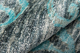 Momeni Artisan ART-2 Grey Area Rug Detail Shot