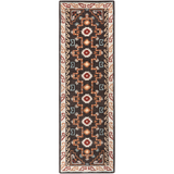 Surya Arizona ARZ-1000 Black Area Rug 2'6'' x 8' Runner
