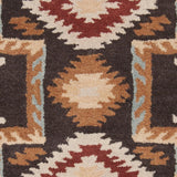 Surya Arizona ARZ-1000 Black Hand Tufted Area Rug Sample Swatch