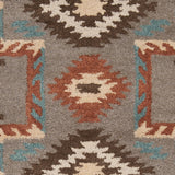 Surya Arizona ARZ-1003 Taupe Hand Tufted Area Rug Sample Swatch