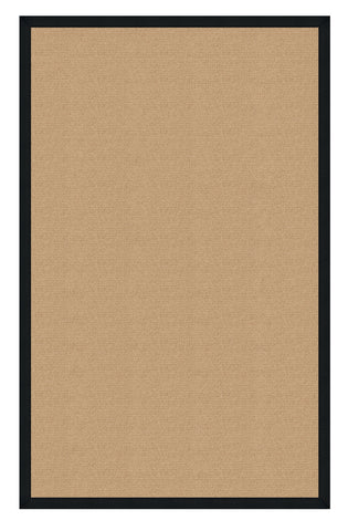 Linon Athena RUG-AT0201 Sisal/Black Area Rug main image
