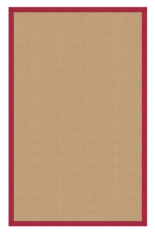 Linon Athena RUG-AT0203 Sisal/Red Area Rug main image