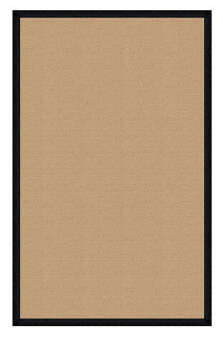 Linon Athena RUG-AT0221 Sisal/Black Area Rug main image